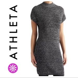 BRAND NEW ATHLETA 100% Merino WOOL Tunic DRESS